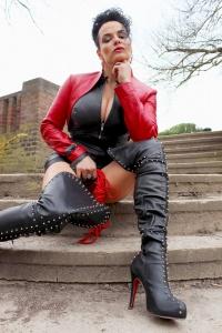 Fetisch Lady Köln - Outdoor 02